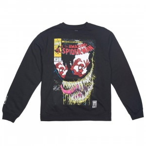 BAIT x Marvel Men Amazing Spiderman #346 Crew Sweater (black)