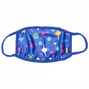Billionaire Boys Club Starfield Mask (blue / surf the web)