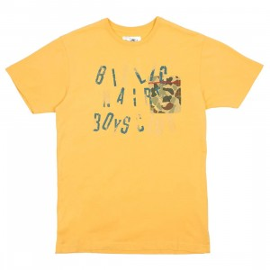 Billionaire Boys Club Men Camo Pocket Tee (yellow)