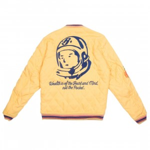 Billionaire Boys Club Men Inner Peace Jacket (yellow)
