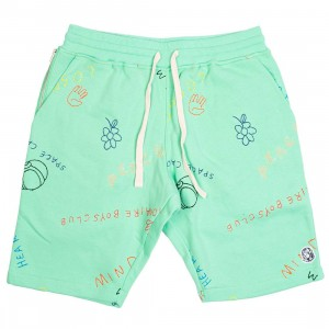 Billionaire Boys Club Men Jott Shorts (green / spring bud)