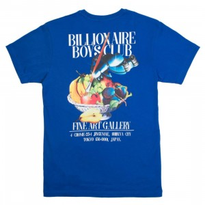 Billionaire Boys Club Men Gallery Tee (blue)