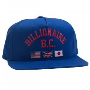 Billionaire Boys Club Snapback Cap (blue / surf the web)