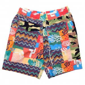 Billionaire Boys Club Men Shark Shorts (blue / pink / mixed)