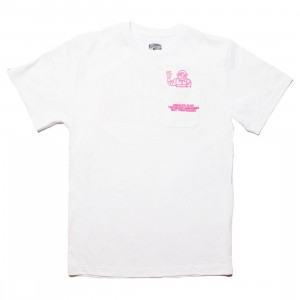 Billionaire Boys Club Men Salute Knit Tee (white)