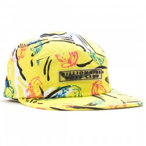 Billionaire Boys Club BB Waves Cap (yellow / sulpher spring)