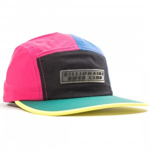 Billionaire Boys Club Sea Level Cap (black / red / blue)