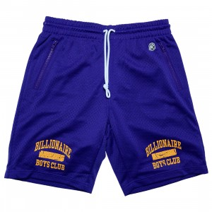 Billionaire Boys Club Men Junior Varsity Short (blue)