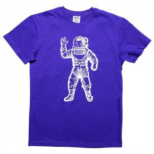 Billionaire Boys Club Men Astro Tee (blue / deep blue purple)