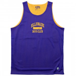 Billionaire Boys Club Men Cadets Tank Top (blue / deep blue purple)