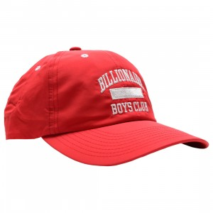Billionaire Boys Club No Cap Cap (red)