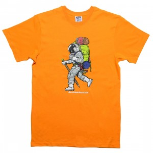 Billionaire Boys Club Men Walker Tee (orange / flame / yellow)