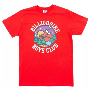 Billionaire Boys Club Men Nature Tee (red)