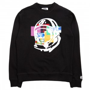 Billionaire Boys Club Men Helmet Crewneck Sweater (black)