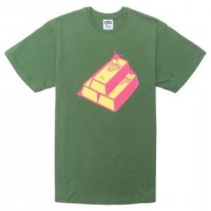 Billionaire Boys Club Men We Buy Gold Tee (green / willow)