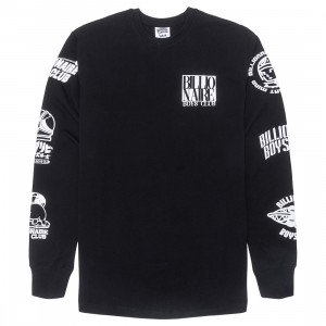 Billionaire Boys Club Men Tagged Long Sleeve Tee (black)