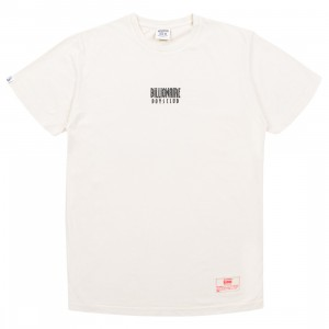Billionaire Boys Club Men Straight Font Knit Tee (white)