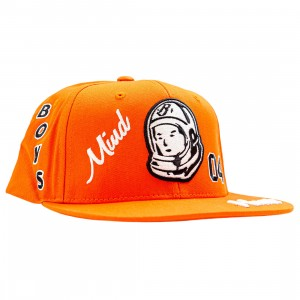 Billionaire Boys Club Captain Snapback Cap (red / tangerine)
