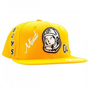 Billionaire Boys Club Captain Snapback Cap (yellow)