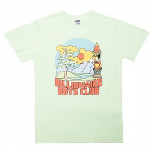 Billionaire Boys Club Men Great Scene Tee (green)