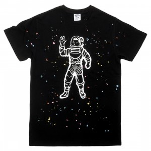 Billionaire Boys Club Men Astro Splattered Knit Tee (black)