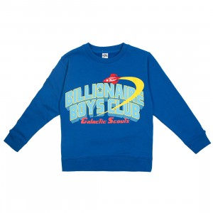 Billionaire Boys Club Little Kids Honor Crew Sweater (blue)