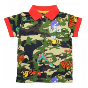 Billionaire Boys Club Little Kids Terra Polo Shirt (army / reed)
