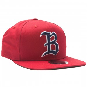 Billionaire Boys Club Triple Snapback Cap (red / scarlett)