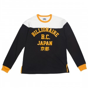 Billionaire Boys Club Men Motorclub Long Sleeve Knit Tee (black)