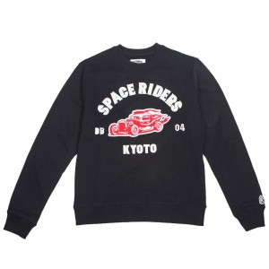 Billionaire Boys Club Men Ride Or Fly Crew Sweater (black)