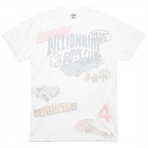 Billionaire Boys Club Men Retro Speed Knit Tee (white)