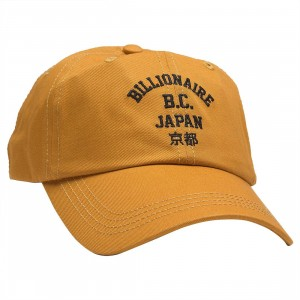Billionaire Boys Club Japan Road Cap (yellow / gold)