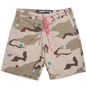 Billionaire Boys Club Men Camo Shorts (camo / smoke)