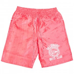 Billionaire Boys Club Men Star Gazer Shorts (red)