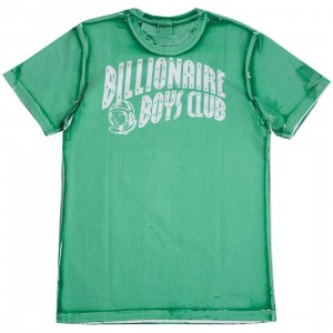 Billionaire Boys Club Men Arch Panel SS Tee (green / jade cream)