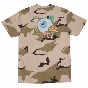 Billionaire Boys Club Men Celestial Knit Tee (camo / smoke)