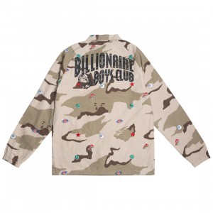Billionaire Boys Club Men Camo Breaks Jacket (camo / smoke)