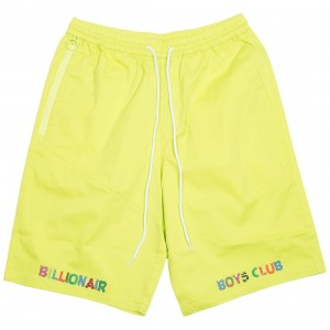 Billionaire Boys Club Men Smiles Shorts (yellow / lime)