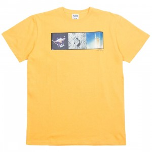 Billionaire Boys Club Men Triptcyh Knit Tee (yellow / beeswax)