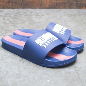 Billionaire Boys Club Men BB Slides (blue)