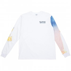 Billionaire Boys Club Men Launch Long Sleeve Tee (white)