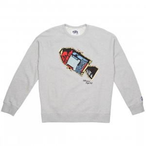 Billionaire Boys Club Men Module Crew Sweater (gray / heather)