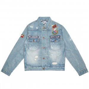 Billionaire Boys Club Men Moonwalker Jacket (blue / oak)
