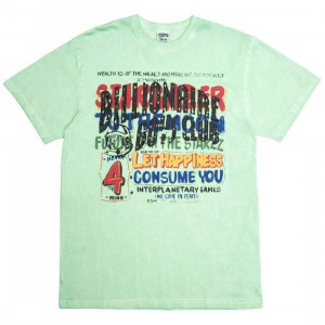 Billionaire Boys Club Men Stargazer Knit Tee (green)