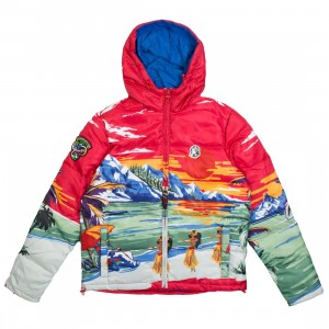 Billionaire Boys Club Men Everest Paradise Jacket (red)