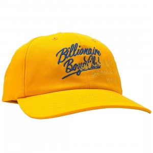 Billionaire Boys Club BB Dad Cap (yellow)
