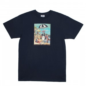 Billionaire Boys Club Men Retro Beach Tee (blue)