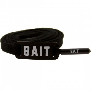 BAIT Flat Shoelaces (black)