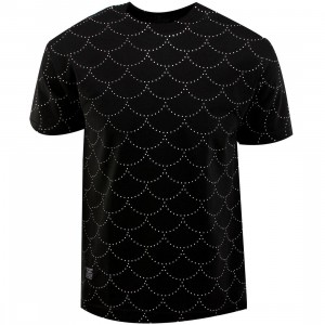 Bloodbath Fishscale Tee (black)