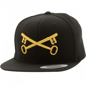 Bloodbath Keys Snapback Cap (black / gold)